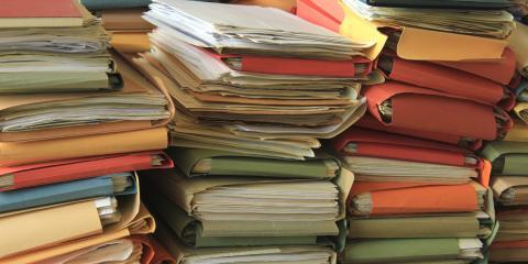 How Long Should You Keep Business Records?, Greensboro, North Carolina