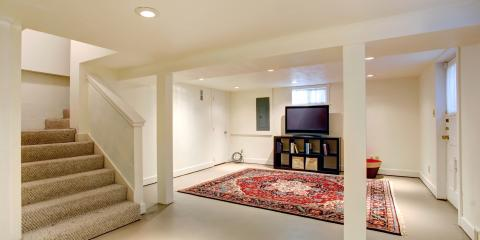 3 Ways to Create a Light, Airy Basement, Perinton, New York