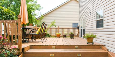 3 Ways to Accessorize a Deck , Trinity, North Carolina