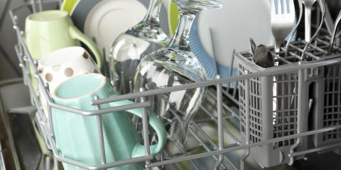 Kitchen Appliance Repair: What to Do If the Dishwasher Isn't Cleaning Well, Lathrop, California