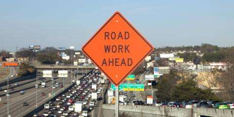 Construction Services Company Shares 5 Rules for Driving Through a Work Zone, Bakerhill, Alabama