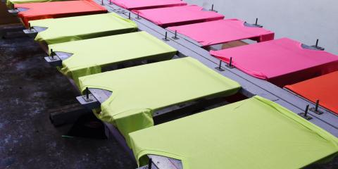 5 Color Combinations to Enhance Your Company's T-Shirts, Honolulu, Hawaii