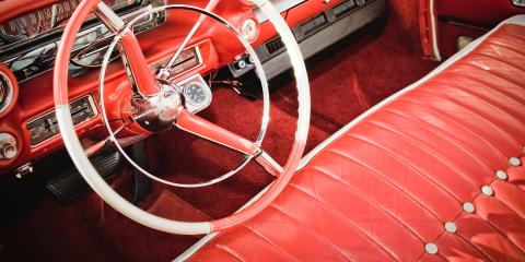 3 Tips for Choosing the Right Antique Car Upholstery Shop