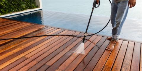 3 Steps to Prepare a Deck or Patio for Pressure Washing, Harrison, Ohio