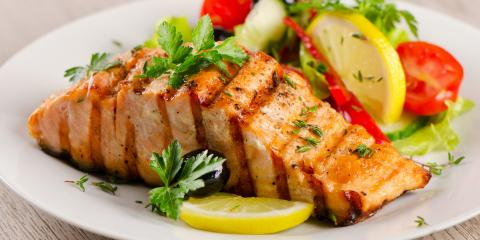 4 Health Benefits of Eating Salmon, Anchorage, Alaska
