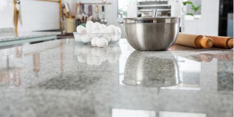 3 Popular Countertop Materials, ,