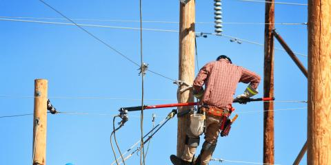 3 Reasons to Replace a Utility Pole, Franklinville, New York