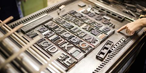 A Guide to Letterpress Printing, Manhattan, New York