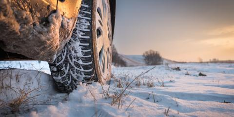 Tire Fundamentals for Cold Weather Driving, Anchorage, Alaska
