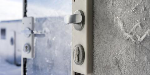 How to Prevent Your Storefront Door Locks From Freezing in the Winter, Kenvil, New Jersey