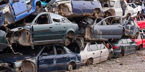Top Salvage Yard Explains How Cars Are Recycled, Waterford, Connecticut