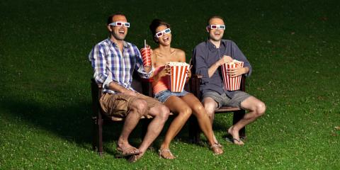 Why Fall Is the Perfect Time to Set Up a Backyard Movie Theater  , Greece, New York