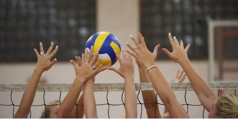 What Joints & Muscles Are Commonly Used in Volleyball?, Evendale, Ohio