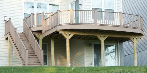 3 Different Types of Deck Railings, Chesterfield, Missouri