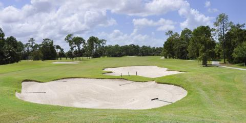 How to Maintain Golf Course Bunkers, Cameron, North Carolina
