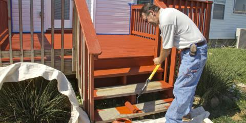 Do's & Don'ts of Staining a Deck, Avon, Connecticut