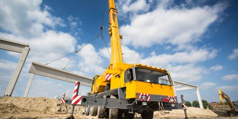 5 Benefits of a Crane Rental, Blue Ash, Ohio