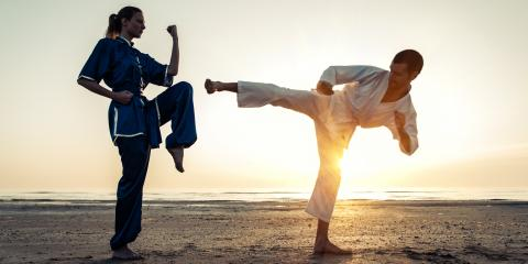 What's the Difference Between Karate & Taekwondo?, West Chester, Ohio