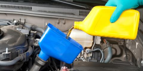 How Do I Know Which Type of Oil to Use During Oil Changes?, Greensboro, North Carolina