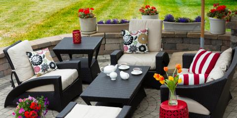 3 Ways to Mix & Match Patterns in Patio Furniture, German, Ohio