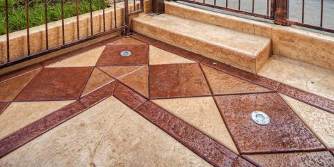 3 Decorative Concrete Ideas for Small Patios, Norwood, Ohio