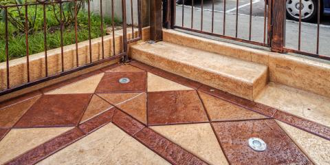 Paving Experts on 3 Ways to Use Stamped & Colored Concrete Around Your Home, Stamford, Connecticut