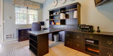An Interior Designer's Top 3 Tips for Creating a Home Office, Bremerton, Washington