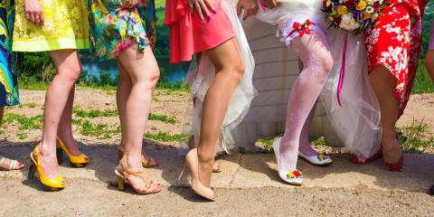 What to Consider Before Dyeing Your Shoes for a Wedding, Brighton, New York