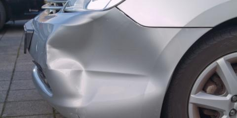 Dent Repair: 5 Common Causes of Car Dents, North Haven, Connecticut