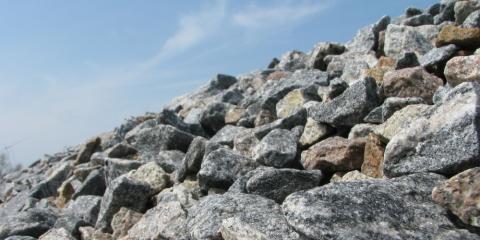 Crushed Rock Experts Explain Rip Rap Stone, Eagle, Ohio