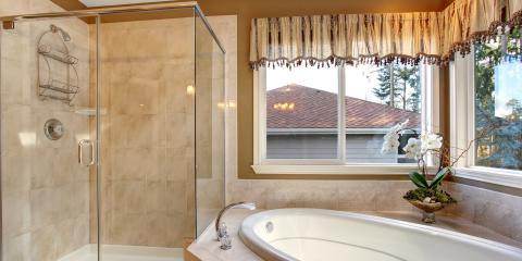 3 Reasons to Replace Curtains With Shower Glass Doors, Rochester, New York
