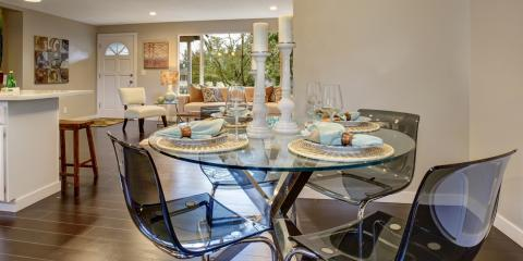 Top 3 Ways to Style Your Glass Top Table, Spring Valley, New York