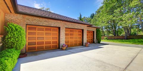 5 Benefits of Having a New Garage Door Installed, Jessup, Maryland