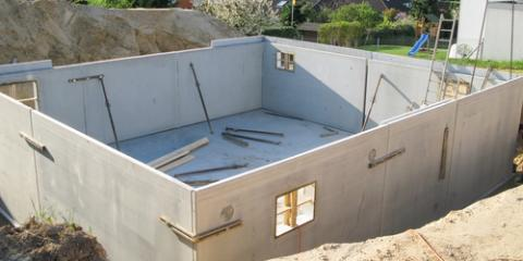 5 Benefits of Poured Concrete Walls, Copley, Ohio