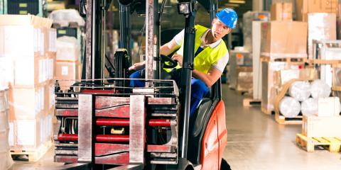 4 Tips for Handling a Forklift Load, South Plainfield, New Jersey