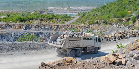 4 Materials Produced in the Quarrying Process, Kodiak, Alaska