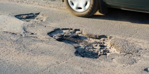 Why Asphalt Potholes Form & How to Fix Them , Helena Flats, Montana