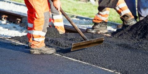 What Is the Difference Between Asphalt & Concrete Roads?, Brockport, New York