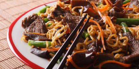 3 Delicious Asian Noodle Dishes, Melville, North Carolina