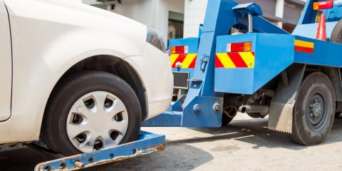 5 Car Troubles That Require Towing, Thomasville, North Carolina