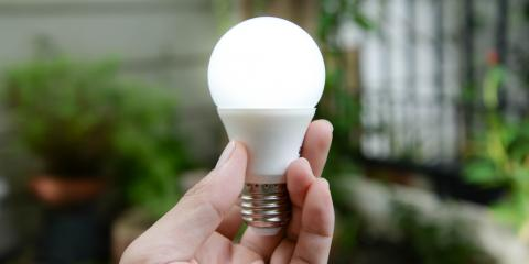 Electrician Explains the Difference Between LED & Fluorescent Bulbs, High Point, North Carolina