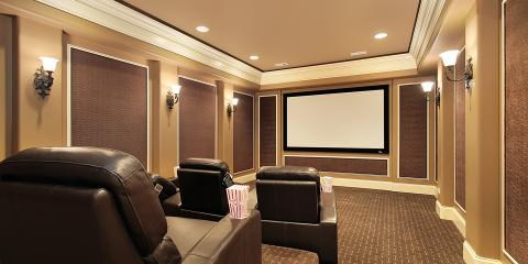 A Guide to Screen Types for a Custom Home Theater, Cornelius, North Carolina