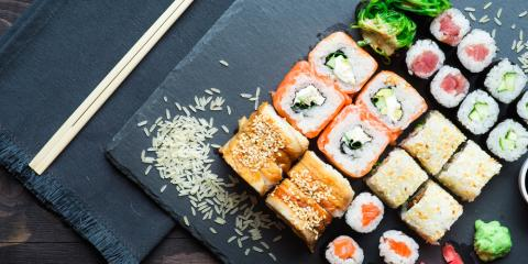 5 Most Popular Sushi Rolls by City, Honolulu, Hawaii
