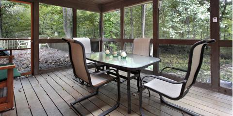 How a Screened-In Porch Can Increase Your Home's Value, Blairsville, Georgia