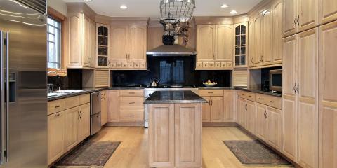 How to Decorate With Oak Custom Cabinets, Barnesville, Ohio