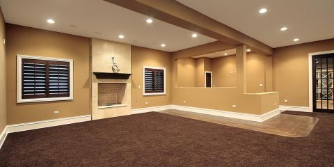 home remodeling company shares the finished basement