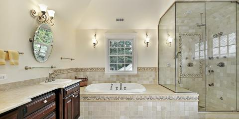 4 Advantages of Glass Shower Doors, Raleigh, North Carolina