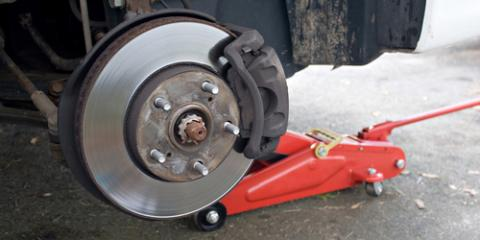 5 Signs of Worn or Damaged Brake Pads, Rotors, & Drums, Ranson, West Virginia