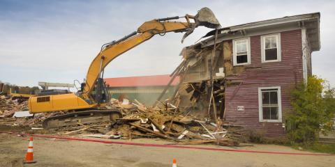 4 Benefits of Hiring a Professional for Demolition Services, Arcadia, New York