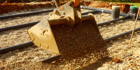 Manchester Aggregate Distributor Explains How Sand Filter Septic Systems Work, Manchester, Connecticut